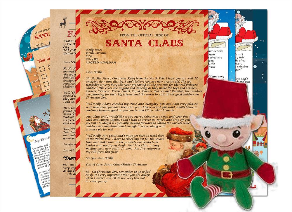 Letter & Ernie the Elf