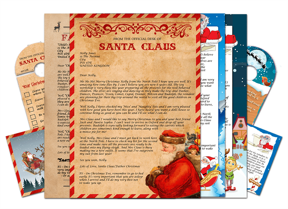 Original Letter from Santa