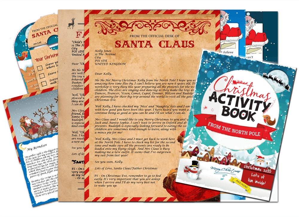 Letter & Christmas Activity Pack